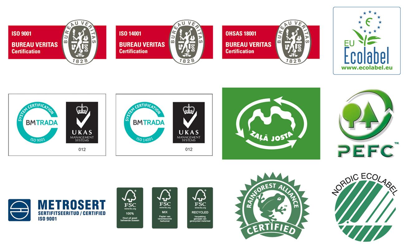 certificaten drukwerk kwaliteit en milieuvriendelijk papier