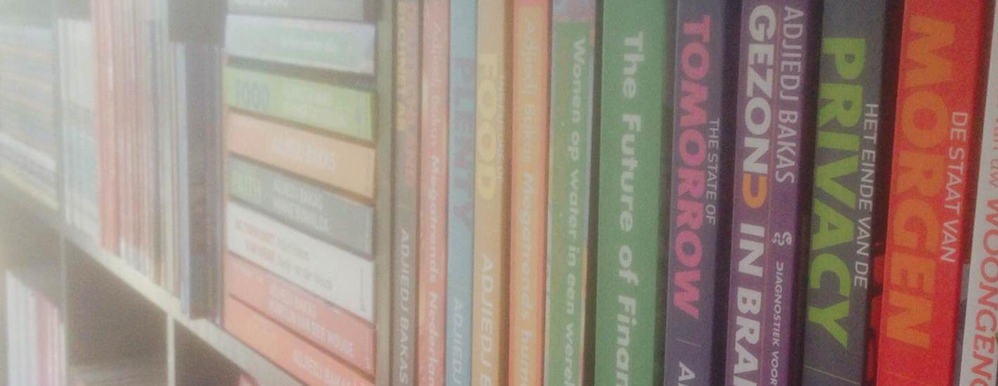 Boeken in boekenkast