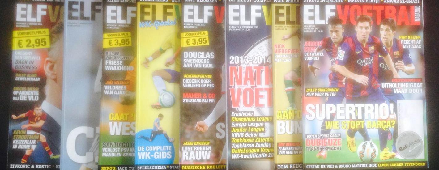Elf voetbal magazines
