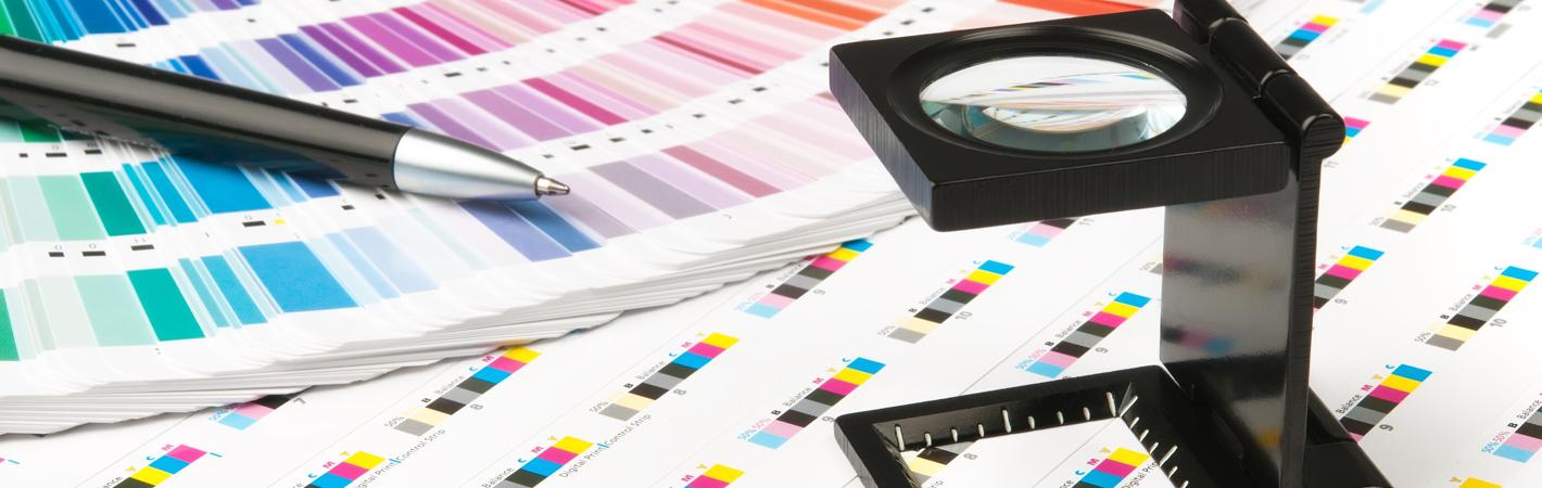 kleurproeven drukwerk