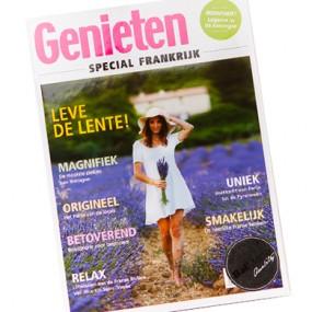 Drukwerk magazine Genieten special Frankrijk 390x390