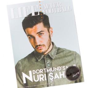 Gedrukt magazine Life After Football 390x390