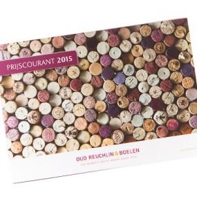 Drukwerk voorbeeld: Prijscourant 2015 390x390 softcover catalogus