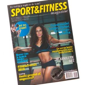Drukwerk voorbeeld: Sport & Fitness magazine