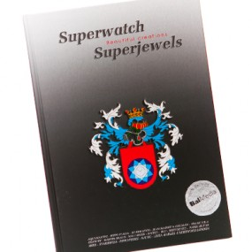 Drukwerk voorbeeld: Superwatch Superjewels 390x390 hardcover boek