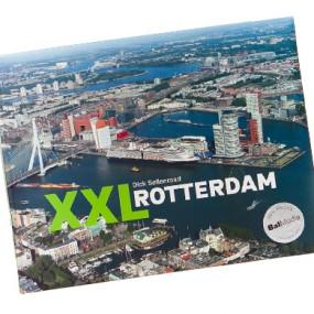 Gedrukt hardcover fotoboek XXL Rotterdam 390x390