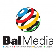 bal media logo - creativity - print management - fulfilment - logistics