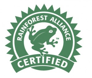 rainforest alliance certificering